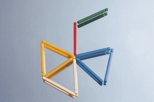 área de triângulo