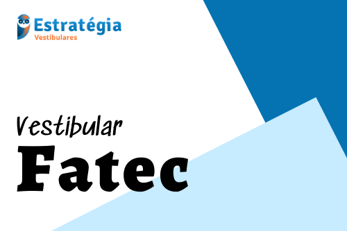 Vestibular Fatec